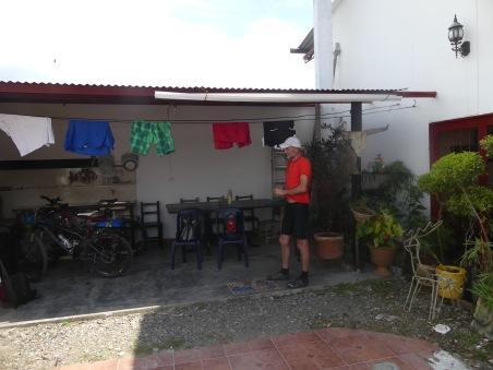 Unsere Räder in der Unterkunft
