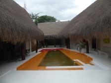 ... und unser Hotel in Villavieja
